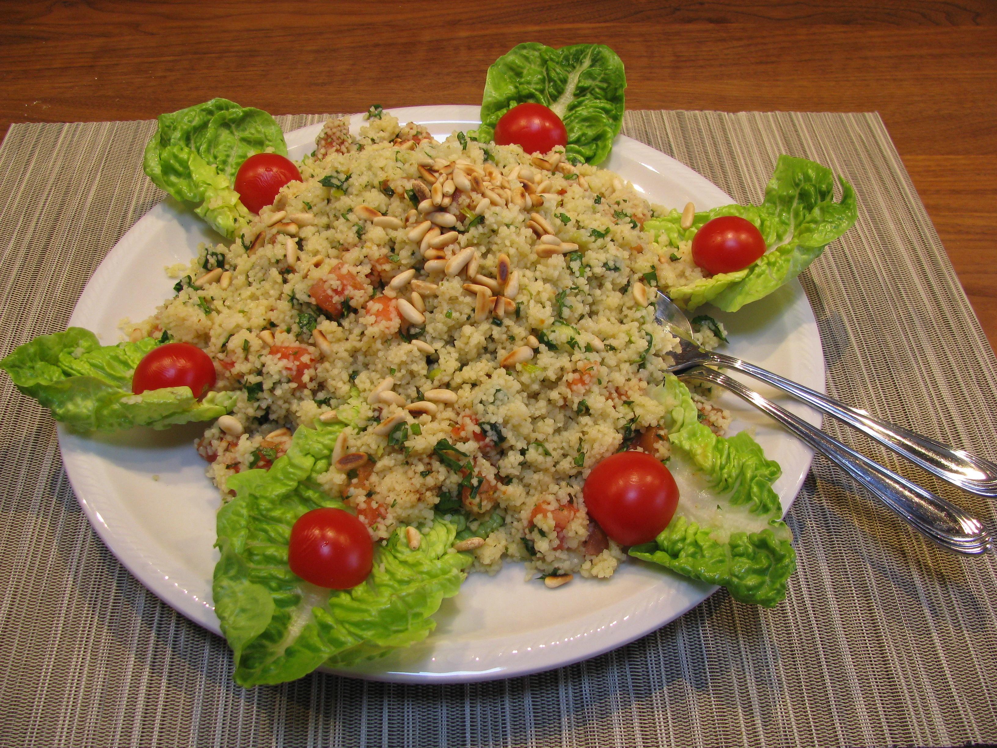 Bild vom fertigen Couscous Salat zum passenden Rezept