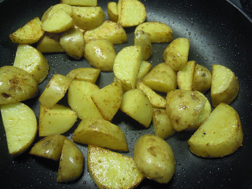 Bild zum Rezept Sbrinzkartoffeln mit Dipp.