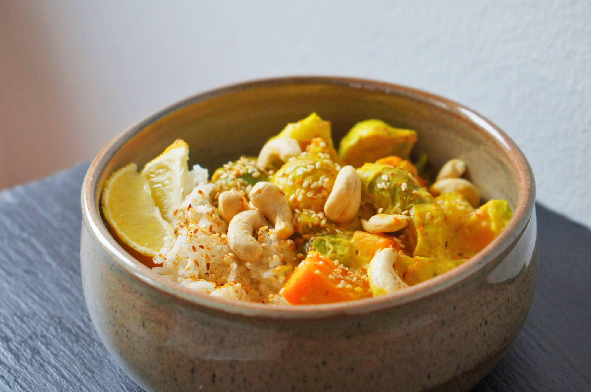 Gemüsecurry mit Kokos Curry Gewürz von Würzmeister